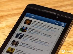 Twitter for BlackBerry 10 updated to v10.0.0.45