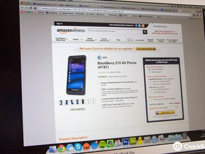 AT&T BlackBerry Z10 now available at Amazon for $199