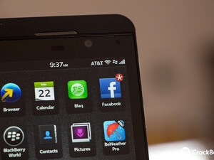BlackBerry Z10 now available from AT&T