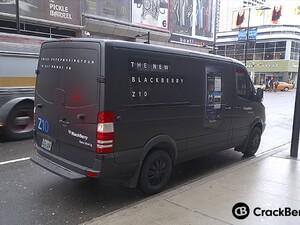 Keep Moving vans start taking the BlackBerry Z10 on tour