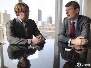 CrackBerry video interview with BlackBerry CEO Thorsten Heins!