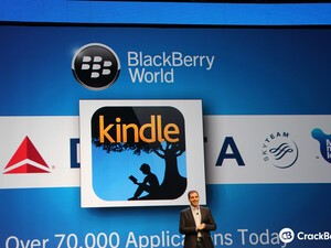 Amazon Kindle for BlackBerry 10 now available