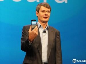 Thorsten Heins brings BlackBerry back in black