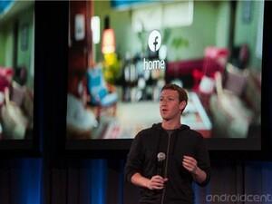 Facebook Home running on BlackBerry OS 10.2