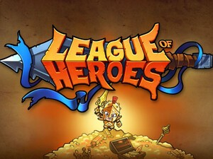 League of Heroes arrives for the BlackBerry PlayBook