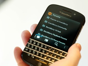 Just picked up a new BlackBerry Q10? Don't forget to download the CrackBerry 10 app!