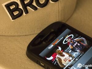 Bleacher Report Team Stream now available for BlackBerry 10