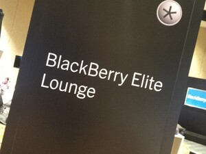 A quick look at the BlackBerry Elite Lounge at BlackBerry Live