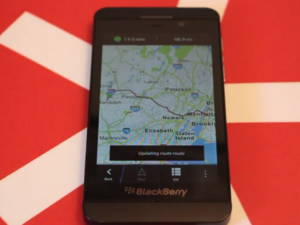 Taking BlackBerry Maps for a test drive