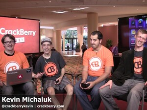 Tune in to the CrackBerry Podcast tomorrow at 10am ET