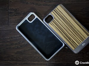 BlackBerry Z10 gets some extra class thanks to Case-Mate's real wood backing