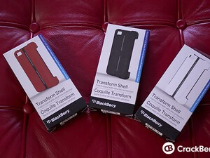 Contest winners: TELUS BlackBerry Q10, a Z10 case, and a t-shirt from Pootermobile!