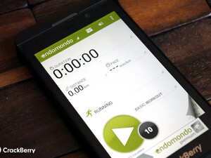 Endomondo now available for BlackBerry 10