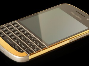 Announcing the winner of the 24ct. Gold BlackBerry Q10!