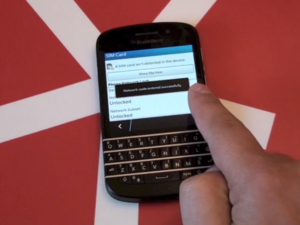 How to unlock your BlackBerry Q10 from Canadian carriers!