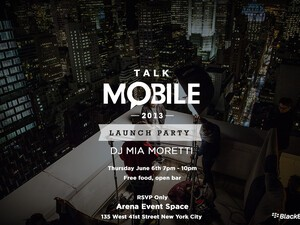 Who won the trip to NYC for the Talk Mobile launch party? Find out now!