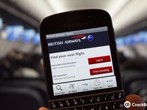 British Airways app now available for BlackBerry 10