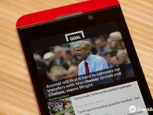 Goal.com releases their BlackBerry 10 app for soccer fans everywhere!