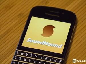 SoundHound for BlackBerry 10 updated to v1.1.0.0