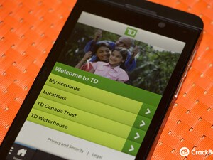 TD Canada Trust app now available for BlackBerry 10