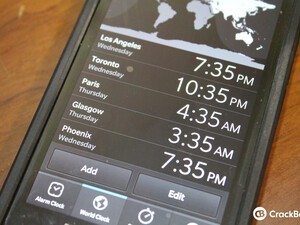 Dear Berry: How do you setup two time zones on BlackBerry 10?