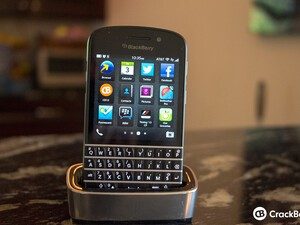 I miss my BlackBerry charging pod!