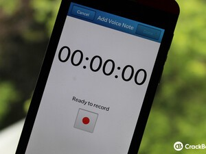 Dear Berry: How do I record a voice note?