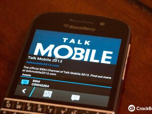 Follow the Talk Mobile 2013 BBM Channel