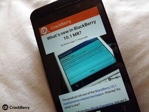 Hands on with the good stuff in BlackBerry 10.1 maintenance release