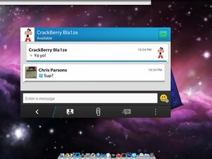 Latest BlackBerry Link survey hints at BBM on the desktop
