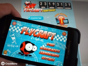 Anyone want to win a BlackBerry Z10 or PlayBook? The FlyCraft competition is coming!