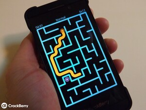 Never see the same maze twice with NeverMaze for BlackBerry 10