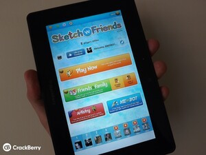 Sketch W Friends gets a nice update for the BlackBerry PlayBook