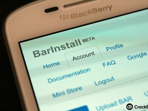 Install files OTA on BlackBerry 10 with BarInstall