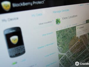 How to find a lost BlackBerry