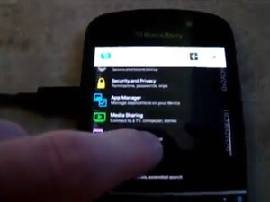 BlackBerry 10.2 shown in action on video!