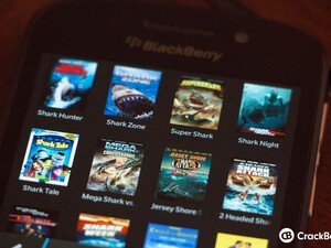 Did you love Sharknado? Here are some other prime shark flicks you can watch on your BlackBerry