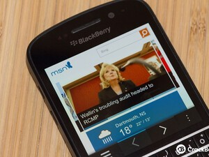 Microsoft rolls out MSN app for BlackBerry 10