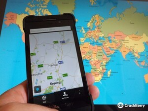 BlackBerry Maps rolls out to Scandinavia and Eastern Europe