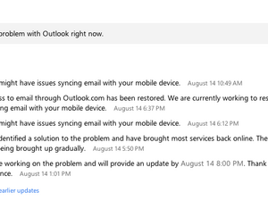 Outlook users - Still having email issues or have they been resolved?