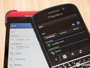 Miracast will not be available on the BlackBerry Z10, Wi-Fi Direct supported instead