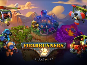 Fieldrunners 2 is back in BlackBerry World and available for download!