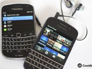 BlackBerry 7 to BlackBerry 10: Music