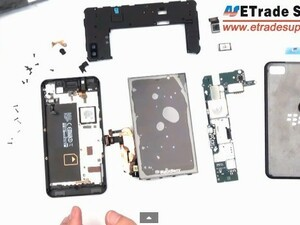 How to take apart a BlackBerry Z10