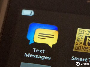 CrackBerry Asks: Do you use the Text Messages icon on BlackBerry 10?