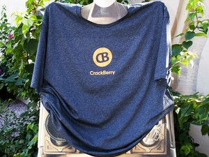 Cover your torso with a CrackBerry t-shirt! Enter to win one now!