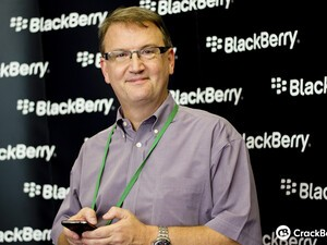 "BlackBerry's Alec Saunders: ""We're definitely not going away"""