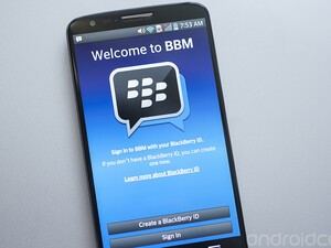 How to use BBM for Android
