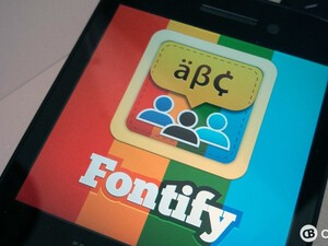 Send your friends fancy messages with Fontify