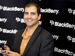 BlackBerry's Marty Mallick talks about Instagram and other big players on BB10